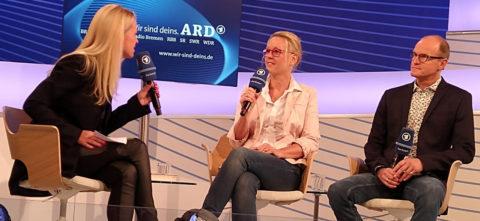 ARD Bühne auf der Buchmesse Frankfurt